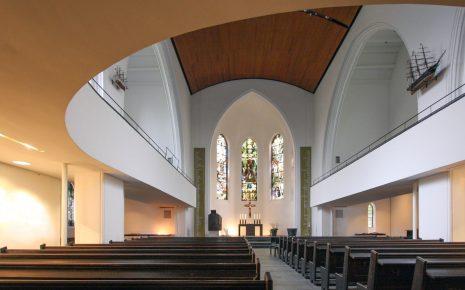 Innenraum Kirche am Markt